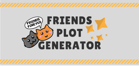 Friends episode plot generator banner