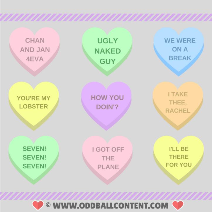 Friends valentines hearts
